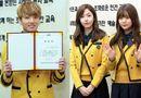 Tin tức giải trí - Trai xinh gái đẹp Kpop rạng rỡ trong lễ tốt nghiệp