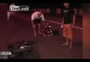 """Video-Hot - Sửng sốt vì """"tiên đoán"""" được tai nạn xe cộ chỉ tích tắc trước khi xe đổ"""
