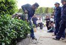 Tin trong nước - TP Hồ Chí Minh: Nhiều công trình của cơ quan nhà nước chiếm vỉa hè bị tháo dỡ