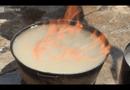 Video-Hot - Nước giếng châm lửa bốc cháy ngùn ngụt như xăng