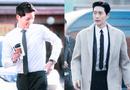 """Tin tức giải trí - Vẻ điển trai """"bất phân thắng bại"""" của Song Joong Ki và Park Hae Jin"""