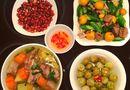 Ăn - Chơi - Mâm cơm hấp dẫn, đủ dinh dưỡng của vợ chồng son khiến nhiều người ao ước