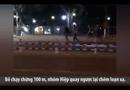 Video-Hot - Hơn 40 thanh niên hỗn chiến giữa phố, 2 người bị chém gục