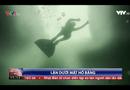 Video-Hot - Cô gái lặn dưới mặt hồ băng không cần bình oxy