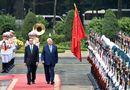 Tin trong nước - Lễ đón chính thức Tổng thống Israel tại Phủ Chủ tịch