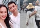Chuyện làng sao - Angela Phương Trinh và Võ Cảnh tình tứ ôm eo nhau đi du lịch Đà Nẵng
