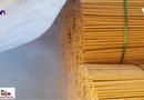 Sức khoẻ - Làm đẹp - Phát sợ xem quy trình sản xuất đũa dùng một lần