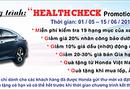 """Ôtô - Xe máy - """"Health Check Promotion"""" –  Chương trình khuyến mại dịch vụ đặc biệt tri ân khách hàng!"""