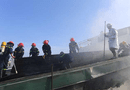 Tin trong nước - Cháy lớn tại siêu thị Điện Máy Xanh, hàng chục chiến sĩ được huy động dập lửa