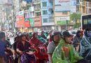 Tin trong nước - Hà Nội: Mưa dông lớn, quật đổ cây sau chuỗi ngày nắng nóng kỉ lục
