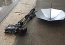 Tin trong nước - Kẻ lạ lái ôtô tông thẳng nhóm phóng viên VTV, phá hỏng máy quay phim