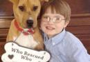 Đời sống - Câu chuyện hy hữu về cậu bé tự kỷ 8 tuổi và chú chó bị bạo hành chờ chết