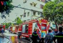 Tin trong nước - Khách sạn bốc cháy ngùn ngụt, khách hoảng loạn chạy thoát thân