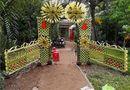 """Đời sống - Mê mẩn những cổng lá dừa """"chất lừ"""" của đám cưới Việt"""