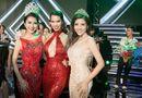 Tin tức giải trí - Hoa hậu Tường Linh tự tin đọ dáng cùng Hà Anh, Hoàng Yến tại chung kết Miss ASEAN