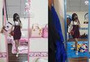 Cộng đồng mạng - Điều đặc biệt trong căn phòng của chị thích Doraemon, em yêu Hello Kitty