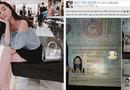 """Cộng đồng mạng - Hộ chiếu bị vẽ bậy, cô gái Việt """"dở khóc dở cười"""" vì mắc kẹt ở sân bay"""