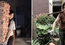 Cộng đồng mạng - Sự thật về cô phụ hồ xinh đẹp vác bao tải 50kg bước đi thoăn thoắt khiến ai cũng ngỡ ngàng