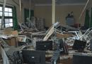 Tin trong nước - Sập sàn phòng học,10 học sinh rơi từ tầng 1 xuống tầng trệt