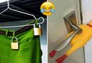 Cộng đồng mạng - Những cách chống trộm siêu hài hước khiến trộm mất việc làm