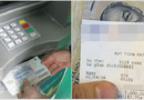 Đời sống - Mối nguy hiểm từ tờ biên lai ATM vô hại mà nhiều người không biết