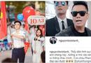 """Cộng đồng mạng - Dân mạng náo loạn khi """"Phan Hải"""" Việt Anh thừa nhận """"hot boy cầm cờ"""" trong lễ khai giảng là cháu mình"""
