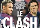 """Tin tức - """"Bom nổ"""" phòng thay đồ PSG: Neymar yêu cầu Chủ tịch bán gấp Cavani"""