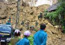 Tin trong nước - Vụ lở đất, 18 người bị vùi lấp ở Hòa Bình: Tìm thấy thi thể không nguyên vẹn