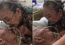 Cộng đồng mạng - Xúc động hình ảnh cụ bà hôn lên trán vỗ về chồng trên giường bệnh, cụ ông choàng tay ôm vợ lưu luyến