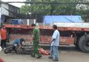 Tin trong nước - Nữ sinh tử vong thương tâm dưới gầm xe đầu kéo