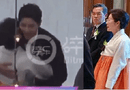 Chuyện làng sao - Xúc động khoảnh khắc mẹ Song Hye Kyo vừa khóc vừa ôm con rể Song Joong Ki dặn dò