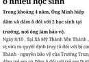 """Tin tức - Nam sinh dựng chuyện bảo vệ trường THCS """"yêu"""" nhiều bạn nữ"""