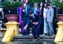 Tin tức - Thủ tướng Canada Justin Trudeau thăm Nhà sàn Bác Hồ
