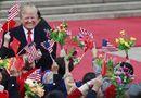 """Tin thế giới - Tổng thống Trump cảm thấy """"ấm áp"""" vì Trung Quốc trải thảm đỏ, bắn đại bác"""