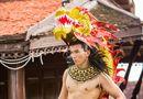 Tin tức - Trang phục dân tộc của Ngọc Tình tại Manhunt được báo Thái Lan ca ngợi