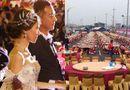 """Tin tức - Đám cưới """"khủng"""" của cặp đôi Đài Loan: Chi gần 3 tỷ đồng, bày 600 mâm cỗ giữa đường quốc lộ"""