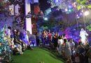 Tin tức - Người dân chen lấn chụp ảnh Giáng sinh trong biệt thự trang hoàng lộng lẫy của Mr Đàm
