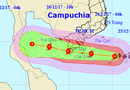Tin tức - Tin bão số 16 mới nhất: Bão giật cấp 13, rạng sáng mai áp sát Côn Đảo