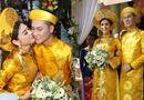 Tin tức - Lâm Khánh Chi rạng rỡ hạnh phúc bên chú rể kém tuổi trong lễ rước dâu