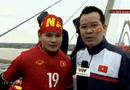 Tin tức - Clip: Quang Hải xúc động trước biển người chào đón U23 Việt Nam