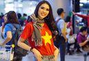 Tin tức - Tường Linh rạng rỡ trở về sau thành tích Top 18 Miss Intercontinental 2017
