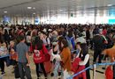 Tin tức - 29 Tết: Sân bay Tân Sơn Nhất chật cứng, người chen người