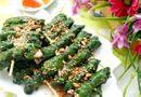 Thực phẩm - Món ngon mỗi ngày: Chả mực cuốn lá lốt đậm đà đưa cơm