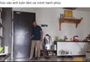 Tin tức - Bị vợ mắng vì lười, chồng trẻ ra tay dọn nhà 3 tiếng rồi quay lại video làm