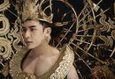 Tin tức - Hé lộ trang phục dát vàng, nặng 40kg của đại diện Việt Nam tại Mister International