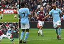 Tin tức - Đè bẹp West Ham, Man City đạt cột mốc 100 bàn thắng tại Premier League