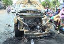 Tin tức - Cha ôm con 8 tuổi thoát khỏi ôtô trước khi xe bốc cháy dữ dội