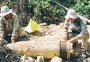 Tin trong nước - Quảng Trị: Hủy nổ quả đạn pháo nặng gần 1 tấn được dân phát hiện