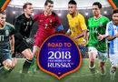"""Tin tức - Danh sách cầu thủ 32 đội tuyển tham dự World Cup 2018: Liệu có """"ngựa ô"""" tỏa sáng?"""