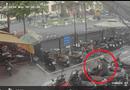 """Tin tức - Clip: Người phụ nữ """"thản nhiên"""" trộm vali trong bãi đỗ xe ở Hà Nội"""
